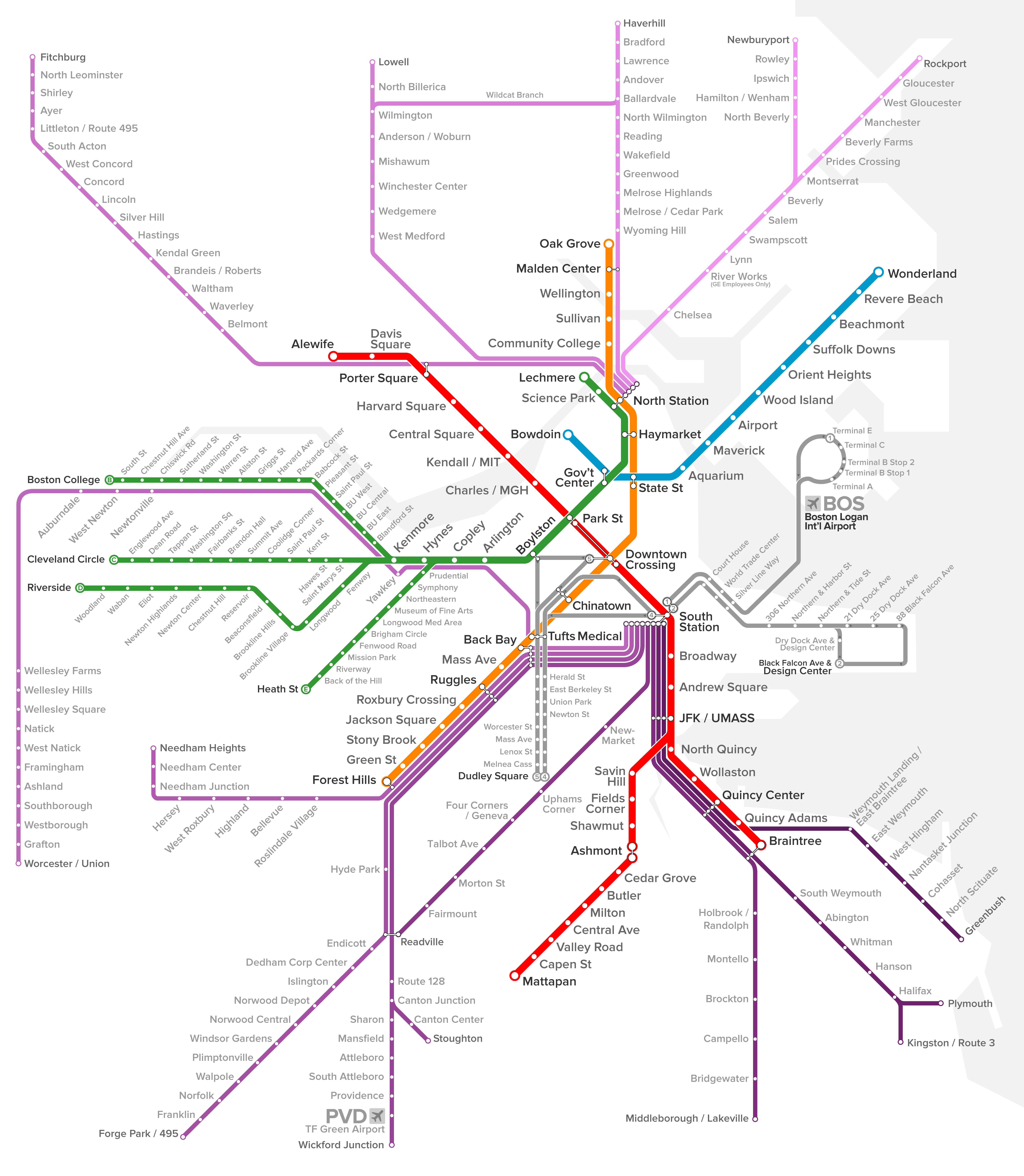 Embark Boston transit diagram
