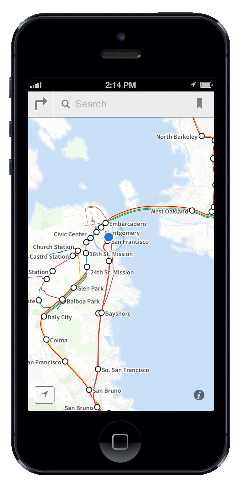 Embark SF slippy transit diagram